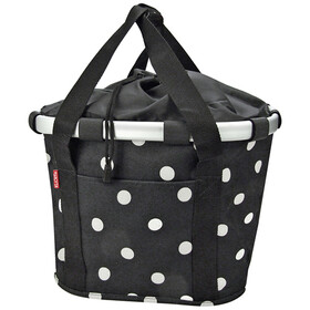 KlickFix Reisenthel Fietsmand, black dots